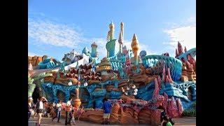 DisneySea, inside of mermaid lagoon, Japan, Tokyo