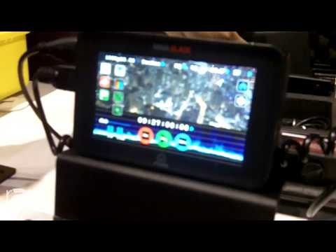 InfoComm 2015: Atomos Shows Ninja Recorder/Player Line