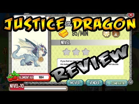 "Como Sacar al ""Dragon Justicia"" (Justice Dragon) - Dragon City REVIEW"