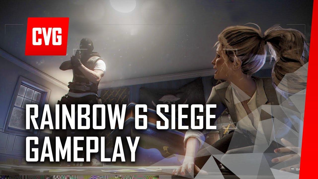 rainbow six siege multiplayer gameplay hd 1080p e3 2014. Black Bedroom Furniture Sets. Home Design Ideas