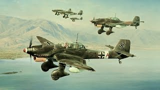 "Aviation Scenes - Battle of Britain ""Stukas vs Spitfires"""