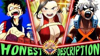 Every Class 1-A Student in Hero Academia - Honest Anime Descriptions (No MHA Season 3 Manga Spoiler)