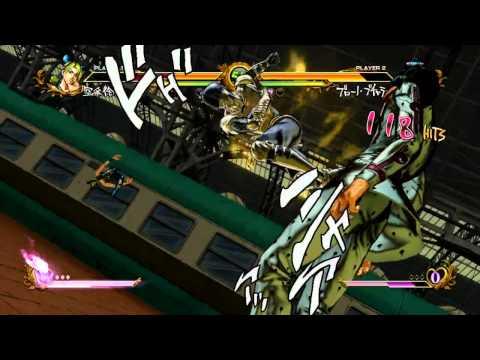 魯蛋 第二戰 PS3-Jojos Bizarre Adventure - All Star Battle (下)