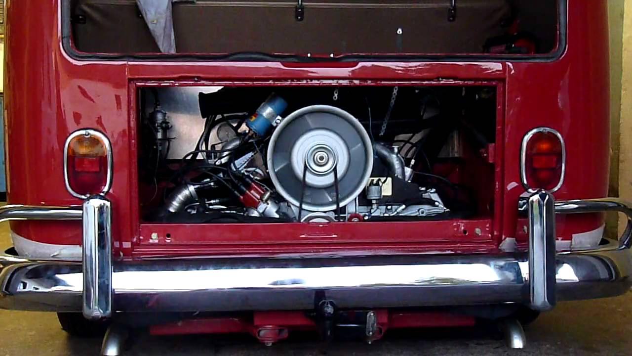 Vw T1 Mit Porsche 911 Power Youtube