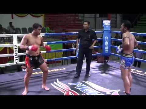 Jongsanan Tiger Muay Thai vs Pornpanom KMAC Gym @ Rawai Boxing Stadium 16 4 16
