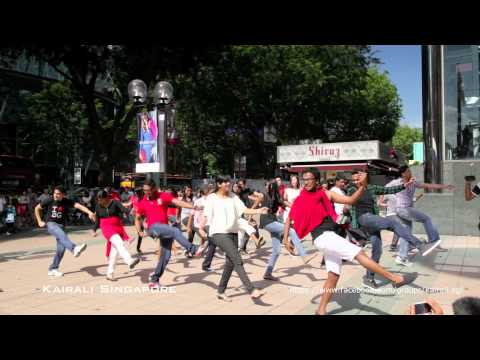 Official Singapore Indian Flash Mob 2 [hd]- Dinka Chikka Nakku Mukka video