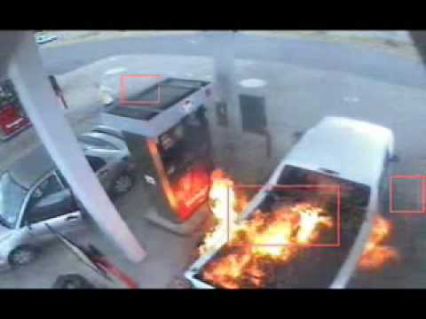 Gas Pump Explosion Caused By Static Electricity Youtube
