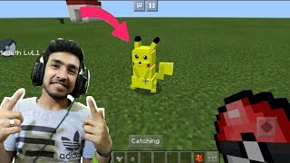 I MADE A PET POKEMON IN MINECRAFT FOR TECHNO GAMERZ | TECHNO GAMERZ MINECRAFT GAMEPLAY #4 |