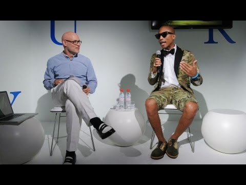 Pharrell Williams Speaks at Design Miami