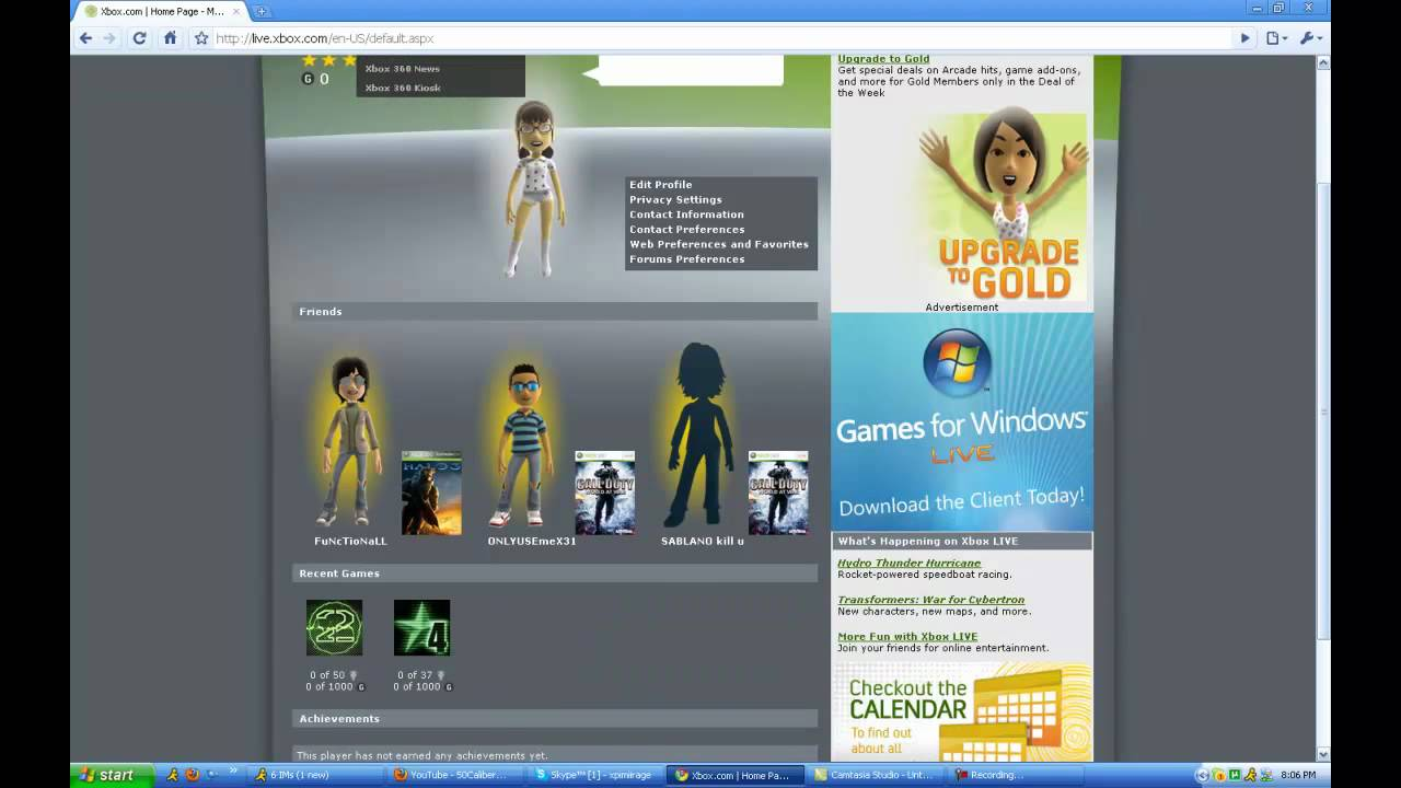 how to get an xbox 360 account
