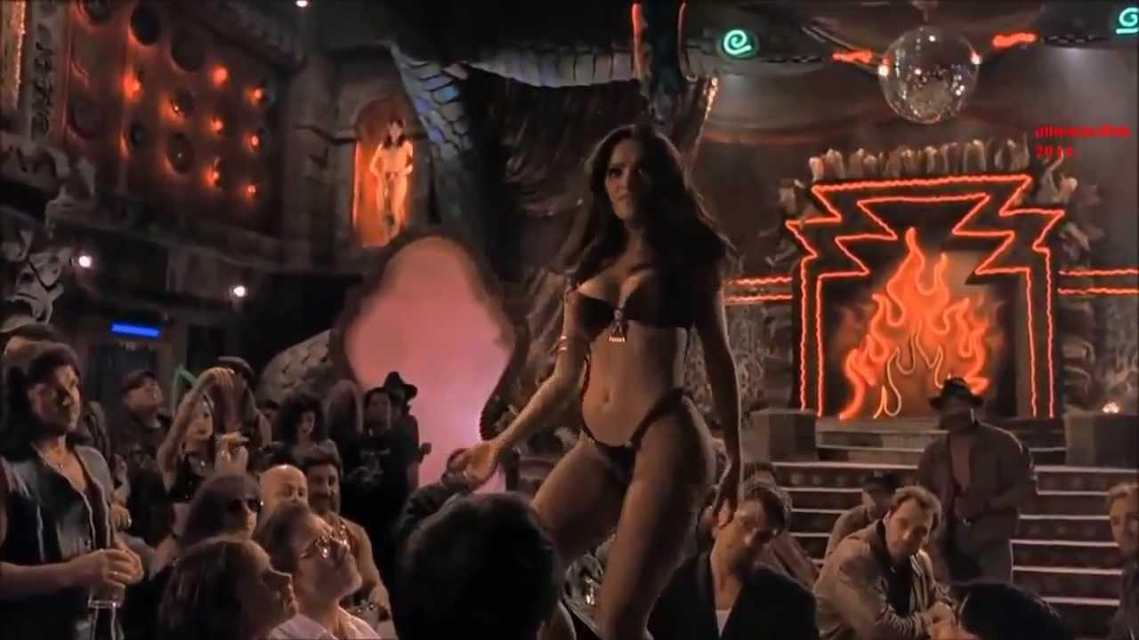 Salma Hayek Dancing Dusk Till Dawn - Salma Hayek Hd Rare Footage