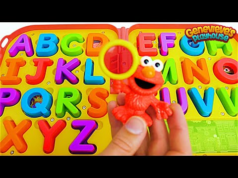 Kids, help Elmo find all of the Missing Letters so we can Spell Words!