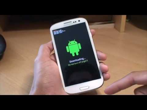 How to get into Download Mode on Samsung Galaxy S3 (SIII. i9300)