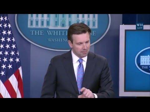 4/19/16: White House Press Briefing