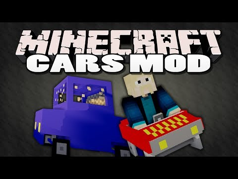Minecraft: Cars Mod Showcase   TRAVEL IN STYLE!