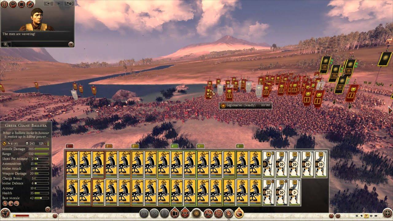 Total War Rome 2 Massive Battles 25 000 Roman