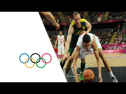 Basketball Men's Prel. Round Group A - Tunisia v Lithuania Replay -- London 2012 Olympic Games