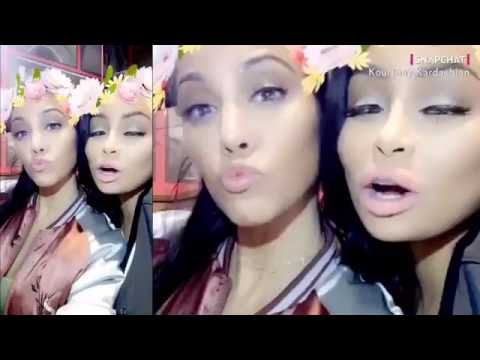 Rob Kardashian & Blac Chyna Party With Khloe Kardashian on Her Birthday
