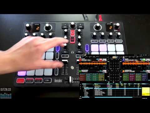 Hercules P32 DJ Performance Controller Video Review