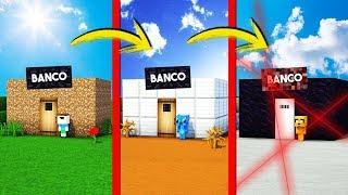 ¡PASAMOS DE BANCO NOOB BANCO PRO! 💎😂 ¡ESCONDEMOS DIAMANTITO EN EL BANCO MÁS SEGURO!