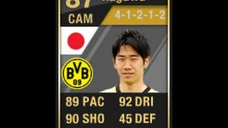 FIFA 12 Ultimate Team TIF KAGAWA Player Review & In Game Stats
