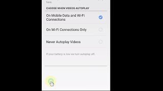 How To Turn Off Autoplay Videos On Facebook App │ Android