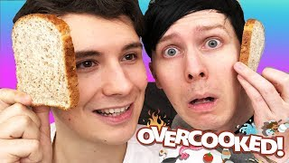 MAKING A PHANDWICH - Dan and Phil play: Overcooked #2!