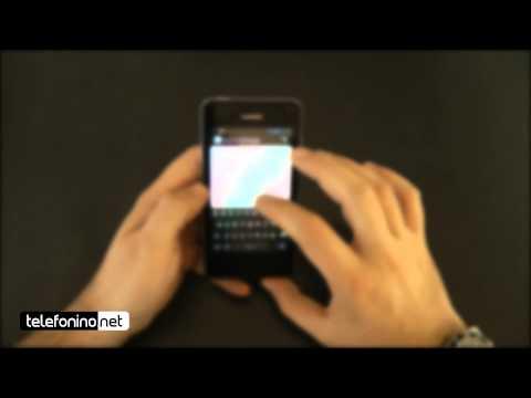 Huawei Ascend Y300 videoreview da Telefonino.net