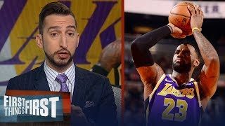 LeBron has been the best point guard in the NBA this season — Nick Wright | NBA | FIRST THINGS FIRST