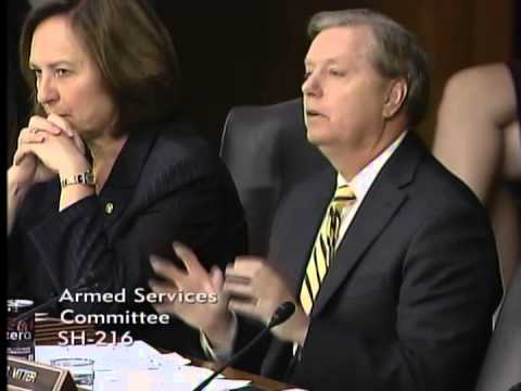 Graham Questions Gen. Dempsey, Sec. Hagel During SASC Hearing on ISIS