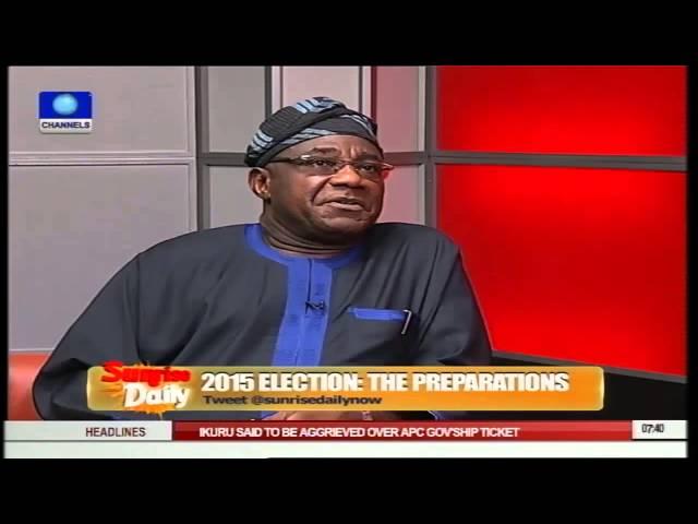 Sunrise Daily: Nigeria Ready For Elections - Dr Lanre Adebayo Pt.2
