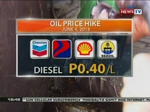 BT: Oil price hike (June 4, 2013)