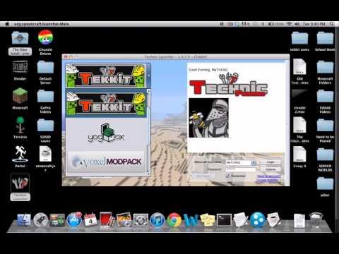 How to Make a Minecraft Tekkit Server on Mac Tutorial  (EASIEST WAY!)