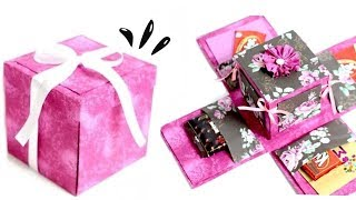 DIY Crafts - How to make an Exploding Box Card