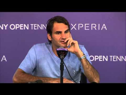 Miami 2014 Friday Interview Roger Federer
