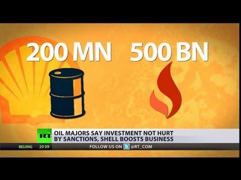 Shell like ExxonMobil has a vested interest Russia's Arctic