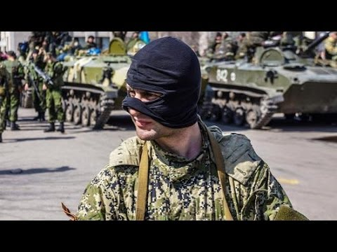 Are The Masked Men In East Ukraine From Russia?