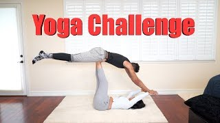 Yoga Challenge FAIL! | Bri Martinez & Kristopher London