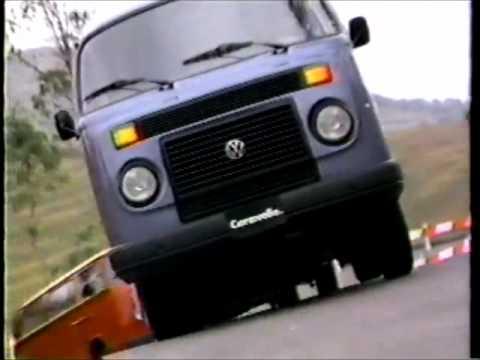 1988 volkswagen caravelle, panel, combi commercial - YouTube
