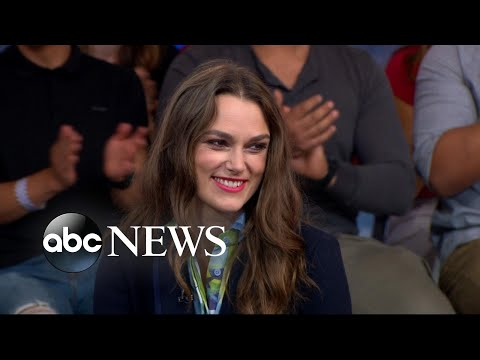 Keira Knightley dishes on 'Colette' live on 'GMA'