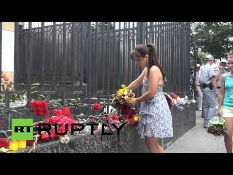 Ukraine: Odessans mourn Moscow Metro tragedy