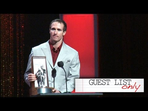 Drew Brees Gives Props to Tim Tebow at Pulse Awards - GUEST LIST ONLY