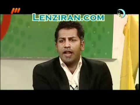 "More videos on http://www.lenziran.com - Despite angry reaction of Ali Daei after his voice and character was imitated by Ù�Saman Gouran in a fun show named""K..."