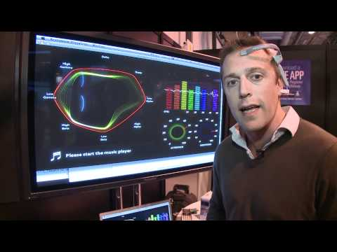 Neurosky Mindwave brain scanner at the Gadget Show 2011 - Which first look review