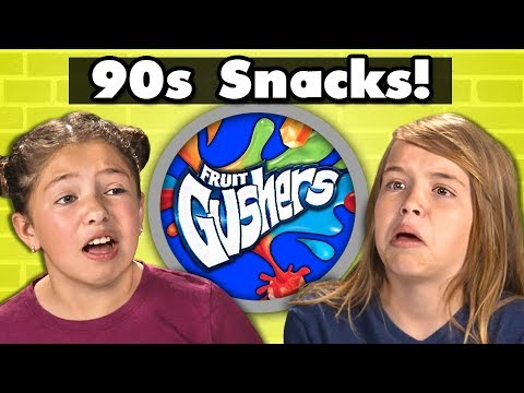KIDS TRY 90s SNACKS! #2 | Kids Vs. Food