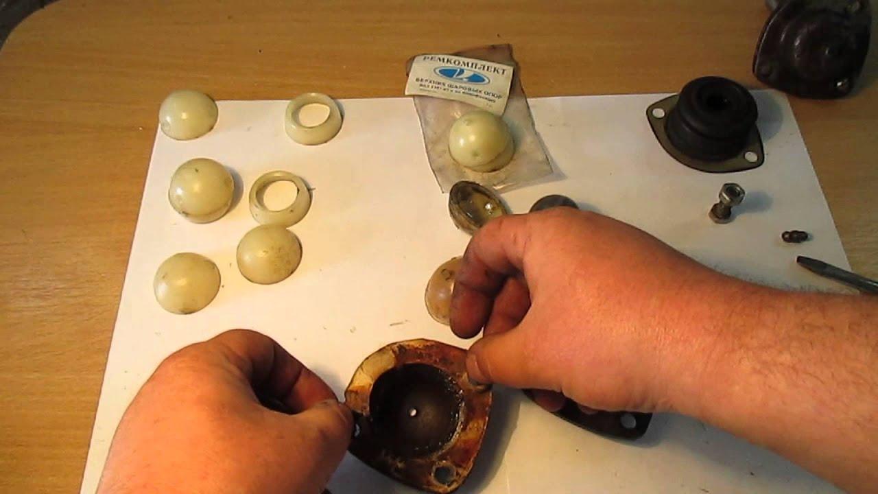 Замена шаровой опоры ваз 2106 в гараже