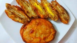 ডিমের পান্তুুয়া পিঠা  Bangali Dimer Pantua Pitha Recipe  Eggs Pantua Cake Recipe  