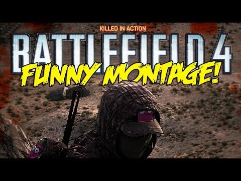 Battlefield 4 Funny Montage! - Crane Troll, Flaming badger, Playing with Subscribers (BF4 funny)
