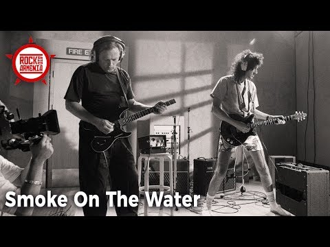 SMOKE ON THE WATER - David Gilmour, Brian May, Tony Iommi, Ritchie Blackmore, Alex Lifeson etc