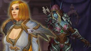 Калия Менетил, истинная королева Лордерона, вернулась! Warcraft | Вирмвуд